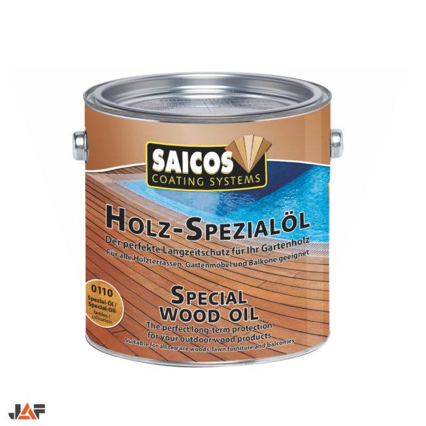 JAF Масло для террас и садовой мебели Saicos Holz-Spezialol бесцветное