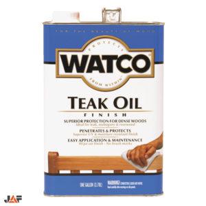 JAF WATCO TEAK OIL 1 Галлон - 3,8 литр